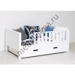 Детская деревянная кровать Ева