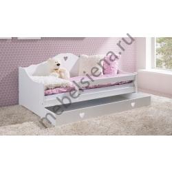 Детская деревянная кровать Диана