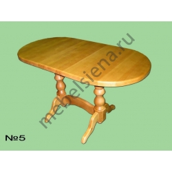 Деревянный стол 5