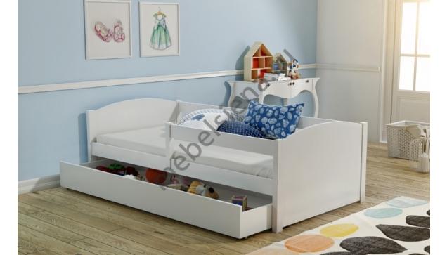 Детская деревянная кровать лиза