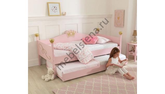 Детская деревянная кровать Принцесса