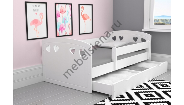 Детская деревянная кровать лиза2