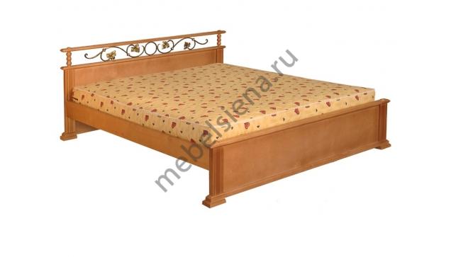 Двуспальная кровать Ева