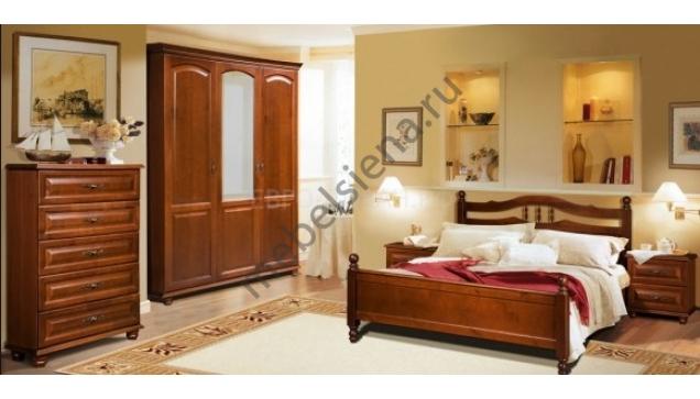 Двуспальная кровать Ида
