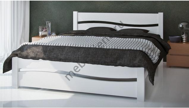 Двуспальная кровать Волна