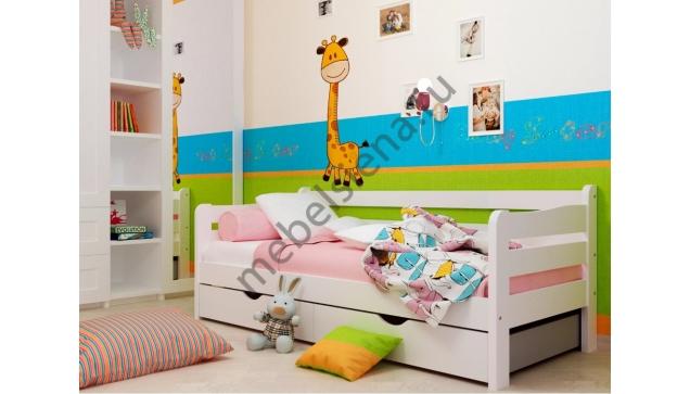 Детская деревянная кровать Полина