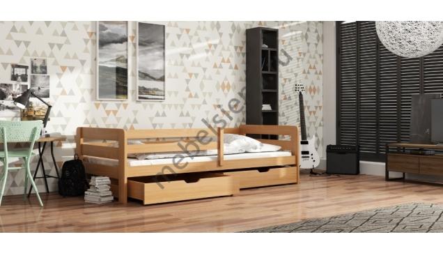 Детская деревянная кровать Кантри