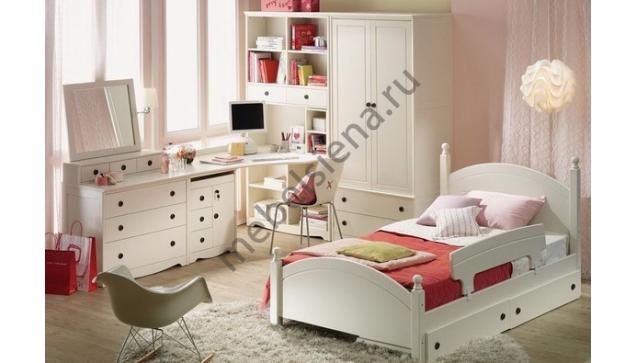 Детская деревянная кровать Радуга
