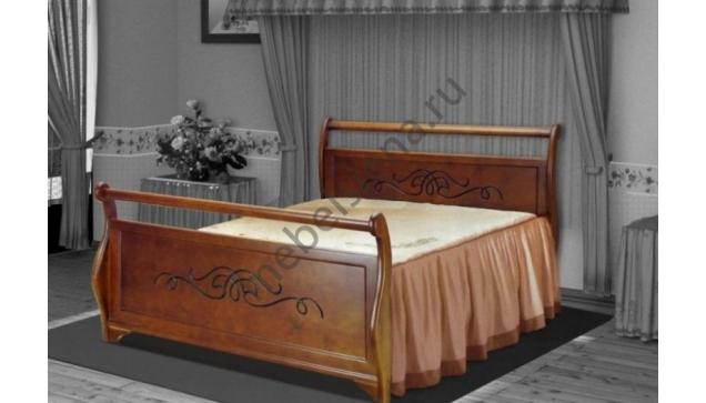 Двуспальная кровать Велла