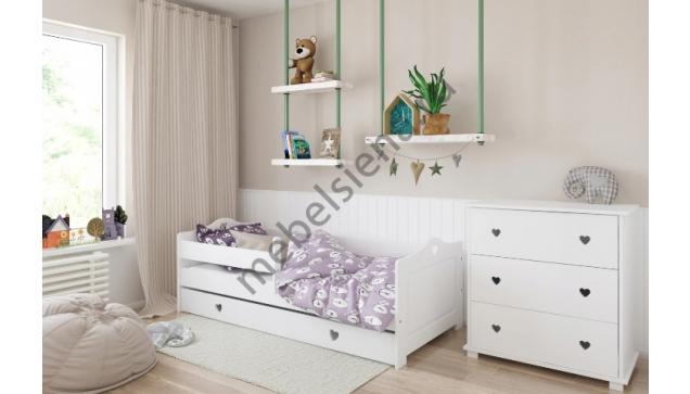 Детская деревянная кровать Линда