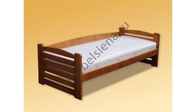 Детская деревянная кровать зебра