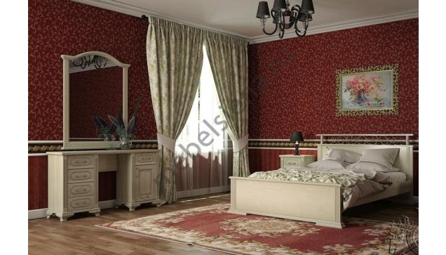 Кровать Ирида белая с подъёмным механизмом