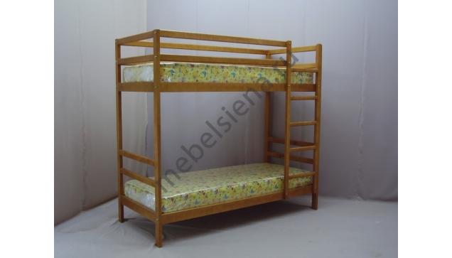 Деревянная двухъярусная кровать - Эконом
