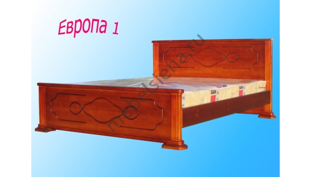Деревянная кровать Европа 1