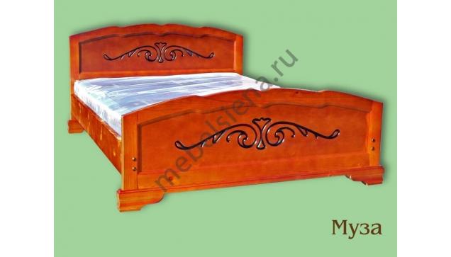 Односпальная кровать Муза полная