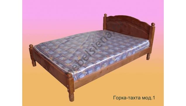Двуспальная кровать Горка-тахта мод.1