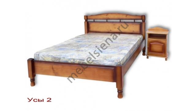 Односпальная кровать Усы 2