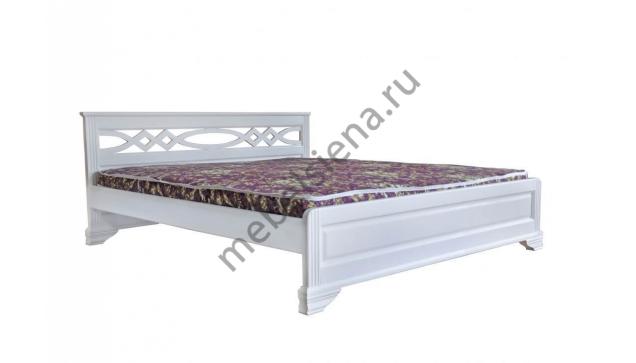 Односпальная кровать Лира белая