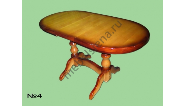 Деревянный стол 4