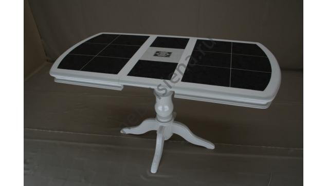 Деревянный стол 1 бал плитка