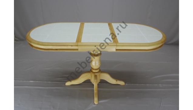 Деревянный стол из массива 1 бал плитка 1