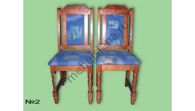 Деревянный стул для кухни 2