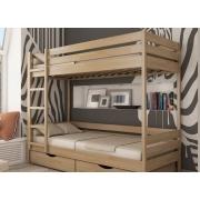 Детские двухъярусные кровати с матрасами