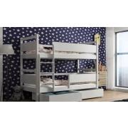 Кровати двухъярусные детские с лестницей