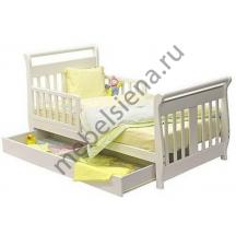 Детская деревянная кровать велла