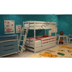 Деревянная двухъярусная кровать - Злата