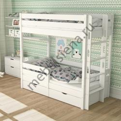 Деревянная двухъярусная кровать - Дамбо 2