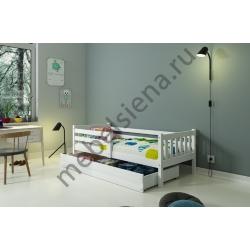 Детская деревянная кровать Винни
