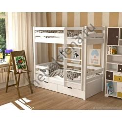 Деревянная двухъярусная кровать - Дамбо