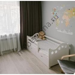 Детская деревянная кровать Авенти Звезда