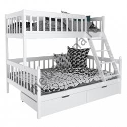 Деревянная двухъярусная кровать - Фима