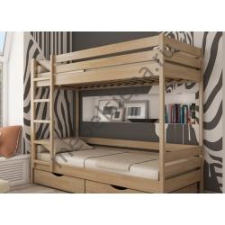 Деревянная двухъярусная кровать - Малютка