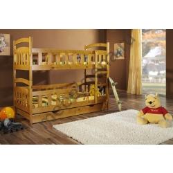 Деревянная двухъярусная кровать - Атланта