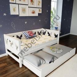 Детская деревянная кровать Галатея