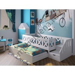 Детская деревянная кровать Кристи