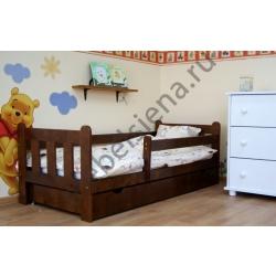 Детская деревянная кровать фима