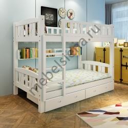 Деревянная двухъярусная кровать - Лика