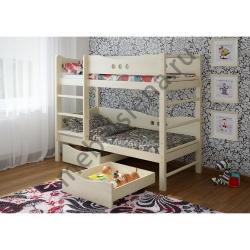 Деревянная двухъярусная кровать - Легенда