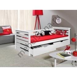 Детская деревянная кровать Нео