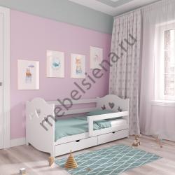 Детская деревянная кровать Мерлен