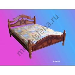 Двуспальная кровать Солнце
