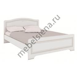 Односпальная кровать белая Атланта