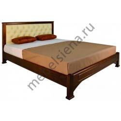 Односпальная кровать Омега вставка прямая