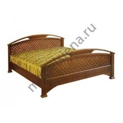 Односпальная кровать Омега сетка