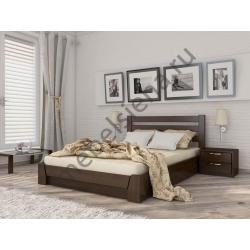 Двуспальная кровать Селена прямая