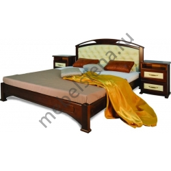 Двуспальная кровать Омега вставка